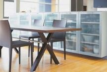 Modern Tables & Cabinets - Mod Livin' / Modern dining tables, coffee tables, end tables, and outdoor tables, perfect for your modern home design. Featuring work from a number of designers such as: Modernica, Serralunga, Blu Dot, and Bensen. / by Mod Livin' Modern Furniture