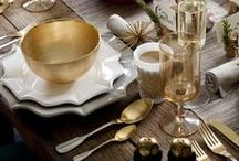 Modern Holiday Dining / Decorating a dining area for the holiday get togethers and festivities. Christmas, Thanksgiving, and Hanukkah all with a modern flare. Setting an elegant table, preparing cocktails, and excellent holiday recipes for a perfect holiday get together.  / by Mod Livin' Modern Furniture
