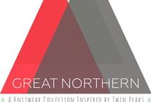 Great Northern Knits / Great Northern Knits, a knitting pattern book from Leah Coccari-Swift and Teresa Gregorio.