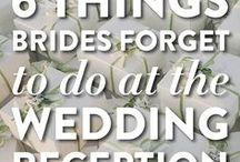 Planning / All about wedding planning and things to think about for your big day.