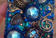 Сочетания глины и других материалов