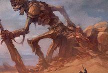 The Ancient Giant Gods Concept art