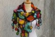Crochet: Wraps, Scarves, Shawls, Hats / Patterns and inspiration for crocheted wraps, scarves, shawls and hats.
