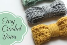 "crochet and knitting! ❤ / Learning to crochet and knit...so many projects piling up on my ""must do"" list! / by Lori Motl"