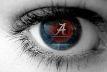 ALABAMA Crimson Tide...I Love it / by Elizabeth Owens