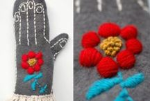 *Mittens in a year / Mittens that I will make over the course of 2014