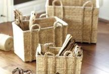 Creative Storage / Shelves, baskets, containers and more!