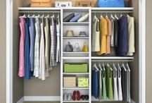 Organizing Clothes / Tips, Ideas & Resources to organize your clothes