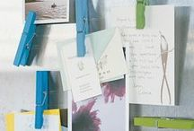 Organizing Paper / Simple tips for organizing and simplifying paper
