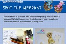 Arts and Crafts for kids with the WotWots / Every week a new project for you and your young children!