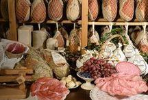 Salumi piacentini / Salumi tipici piacentini e i tre DOP salame, pancetta e coppa.