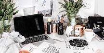 Dream Desk / Perfect workspace ideas & inspiration.