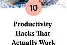 Productivity / Daily planning, time management, productivity hacks and organisation tips for a smarter life.