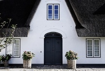 thatched roof . reetdächer