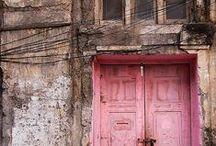 Doorway Fascination / Looking Out  -  Looking in