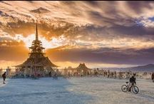 "Art : Burning Man / ""Creativity is intelligence having fun."" - Albert Einstein"