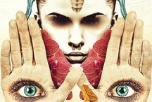 """Collage  / """"Art is either plagiarism or revolution. """" - Paul Gauguin    / by : barbarella :"""