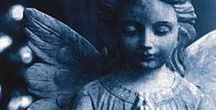 Angels of Comfort and Inspiration / Nothing is more comforting than the face or the presence of an angel, no matter what form. Let these images of angels (including guardian angels and angel gardens) comfort and console you as well as inspire you.
