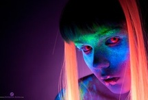 UV (Ultra Violet) Glowing Contact Lenses
