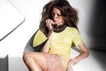 Aire SS 2013 / Colección de verano 2013 de Cuplé dónde predominan los colores pastel, blanco, negro y flúor. Almudena Fernández es la imagen de la campaña de zapatos, bolsos, ropa y accesorios para la mujer.