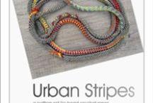 Urban Stripes / A bead Crochet Pattern Set http://www.beadline.com/press/urban/urban.html