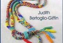 Native Stripes / a bead crochet pattern set