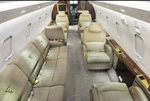 Luxury Air Travel / I'd love a private a jet...what's to stop a man from dreaming?