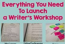 Writer's Workshop / Lessons and units on teaching writer's workshop in elementary school. Everything you need to launch writer's workshop.  Great writer's workshop tips, activities, and lessons.