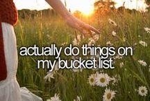 Bucket List - Done
