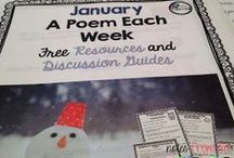 January Teaching Ideas / Ideas for January.  Arts, lessons, and fun things for all grades.
