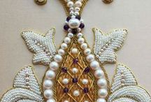 Pearl & Goldwork Bead Embroidery