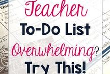 Classroom: Planning and Organization / Ways to plan and organize your week. Great ideas and tips on organizing the classroom.