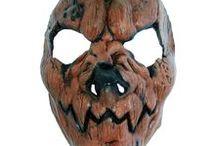 Halloween masker / Her finner du forslag til skumle halloween masker.