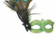 Øyemasker / Her finner du inspirasjon og masker du kan bruke til maskerade.