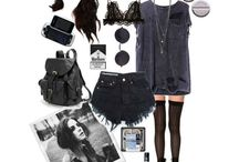 Effy Stonem Fashion / Outfits worn by Effy Stonem (Kayla Scodelario) from the to show Skins