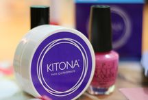 Kitona / Kitona pads quitaesmalte sin acetona. PRACTICO-SIN DERRAMES-PORTATIL