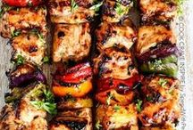 Summer BBQ / Get your grill on with these delicious meals made BBQ style.   BBQ   BBQ Side Dishes   BBQ Grill   BBQ Hacks   BBQ Dinners   Grilling Time
