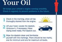 Car Maintenance Tips & Tricks / Keep your vehicle in top shape for traffic and driver safety.  Our name isn't 1safedriver for nothing!
