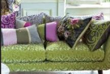 Green Sofas / Green sofas and what works with them - home decor ideas, cushion ideas, accessories,  / by Lorna Sixsmith