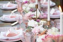 Wedding decor | Hochzeitsdeko / Ideen für Hochzeitsdekoration - von Tischdekoration über Stuhldekoration bis hin zu kleinen feinen Hochzeitsideen