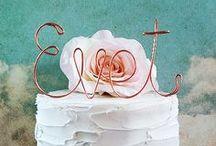 wedding cakes & cake toppers / Besondere Hochzeitstorten und Cake Topper