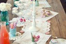 Doilies & Lace Wedding / Ideen mit Spitze für Vintage Hochzeiten