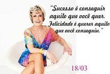 Ana Maria Braga / Mensagens