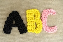 Crochet Alphabet / by Barbara Binda