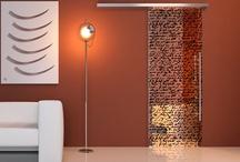 Design / Sliding Doors, Interior Design, Glass, Glamour design, Fashion glass