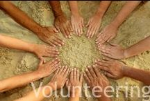 HELPING / The Deliberate Mom & Helping. Ideas to help others, volunteer, and make a positive change in the world.