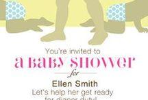 Baby shower/ diaper shower / by Shana B