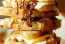 Recipes for Sandwiches, Burgers and Grilled Cheeses / Who doesn't love to sink their teeth into a flavorful sandwich, gooey grilled cheese or a thick, juicy burger.