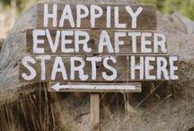 Wedding signs | Hochzeitsschilder / Tolle Ideen für Schilder und Wegweiser für Eure Hochzeit