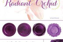 Radiant Orchid ~ Pantone Color of the Year~ Wedding Inspiration / Wild Orchid is the 2014 Pantone Color of the year. This gorgeous color can be used to add a subtle pop of color to a wedding or you can mismatch different shades of purple with radiant orchid to create a dramatic look on your wedding day. Whichever route you choose, wild orchid will make you look like royalty as you walk down the aisle.